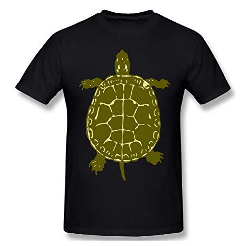 Mens Short-Sleeve Crew-Neck T Shirts, Fashion Native American Turtles Blouse Tops M (American-kleidung Für Männer Native)