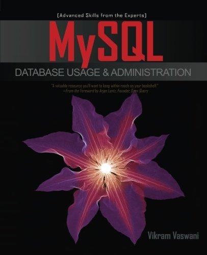 MySQL Database Usage & Administration by Vikram Vaswani (2009-11-04)
