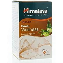 Himalaya Triphala - Cápsulas para limpiar el Colon y aliviar el estreñimiento, 60 tabletas vegetarianas
