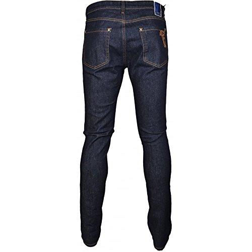 Versace Herren Jeanshose blau dunkelblau Dunkelblau
