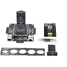 6in1eMMC riparazione adattatore supporta Medusa Pro/Ufi/ATF/Easy Jtag/Riff/eMMC Pro universale eMMC scatole programmatore per eMMC read Write programmazione (Dr. fix-emmc kit adattatore)