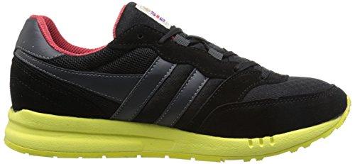 Gola Samurai Mesh - Sports en extérieur - Homme Noir (Black/Black/Neon Green)