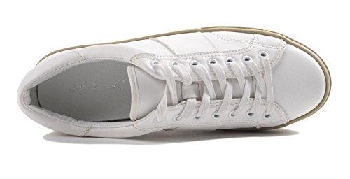 SHINIK Femmes Chaussures de sport en plein air Chaussures de sport Chaussures de sport White