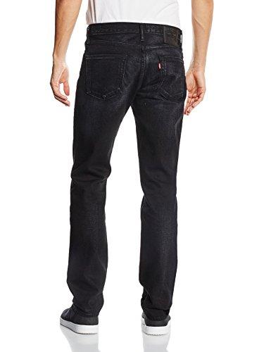 Levi's Herren Jeans 511 Slim Fit Schwarz (NANO BLACK 2011)