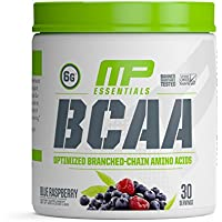 Muscle Pharm 215g Blue Raspberry BCAA Supplement