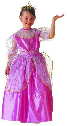 Widmann wid38636–Kostüm für Kinder Beauty Queen, Pink, (Kostüm Queen Beauty)