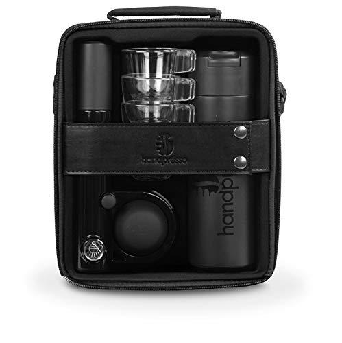 Handpresso 48241 48261 AUTO Hybrid Espressomaschiene für Outdoors, schwarz