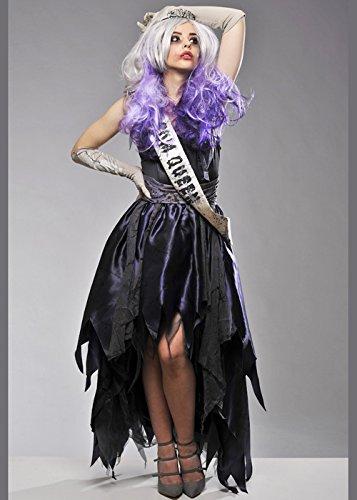 Erwachsene Damen-Halloween-Zombie-Abschlussball-Königin-Kostüm Plus Size (Halloween Damen Plus Size Kostüme)