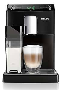Philips HD8834/01 3100 Serie Kaffeevollautomat, integrierte Milchkaraffe, schwarz