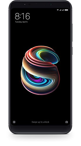Xiaomi Redmi 5 Plus - Smartphone de 5.99' Full HD (14 NM Snapdragon Octa-Core, 64 GB, Android) Color Negro [versión...