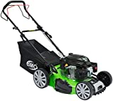 "BMC Lawn Racer Self Propelled 20"" Wolf Engine Petrol Powered Lawn Mower with 50L Grass Collection Bag, 5.32HP Engine, 4 in 1 Facility Cut, Cut & Collect, Mulch, Side Discharge - 2 YEAR WARRANTY"