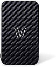WOODIE Milano Wireless Power Bank Batteria Wireless Portatile con magneti+Porta USB per iPhone X,8, Samsung, H
