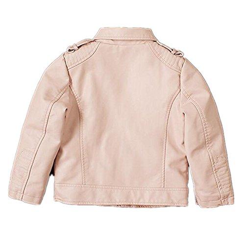 3a07b45b9918 Buy LJYH New Kids Jackets Kids PU Leather Jacket Girls Leather Coat ...