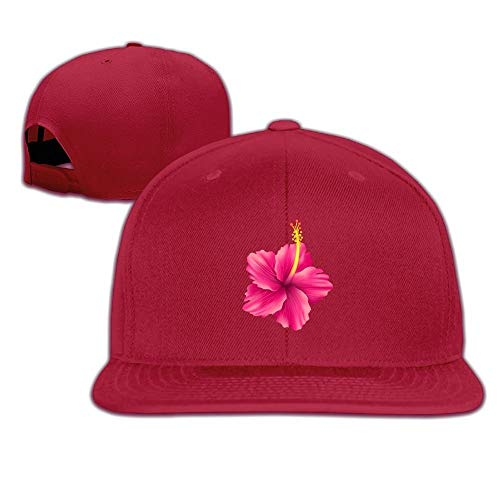 uykjuykj Hibiscus Flat Visor Snapback Hat Baseball Cap Blank Cap for Men Women Comfortable Trucker Cap Sport for Men Women (Beanie Boy Baby Jordan)