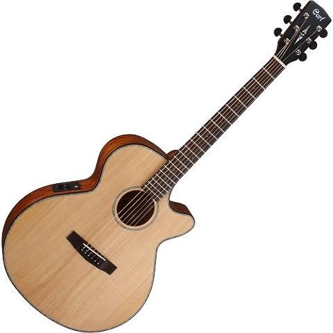 CORT SFXENS SFX Cutaway Elektro-Akustische Gitarre (Single Cutaway Gitarre)