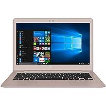 """ASUS UX310UA-FC330T - Portátil de 13.3"""" (Intel Core i5-7200U, RAM de 4 GB, SSD de 128 GB, Intel HD Graphics 620, Windows 10) oro rosado con efecto de giro - Teclado QWERTY Español"""