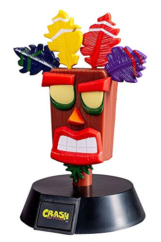 Crash Bandicoot - Aku Aku - Tischlampe   Original Merchandise
