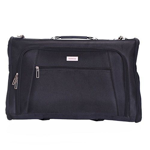Slimbridge Rha Handgepäck Kleidungsstückträger Kleidersack, Schwarz (Koffer Suiter)