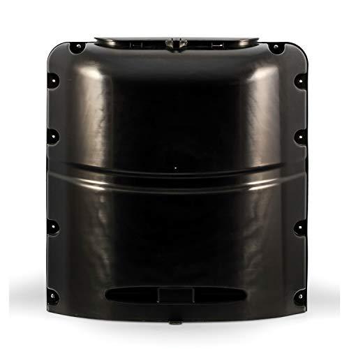 Camco Mfg 40565 Lp Tank Cover 20# SGL Black - Lp Tank Cover