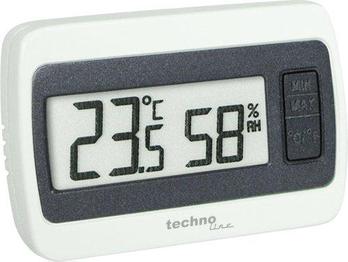 Technoline WS 7005-IT - Estación meteorológica, color blanco y gris