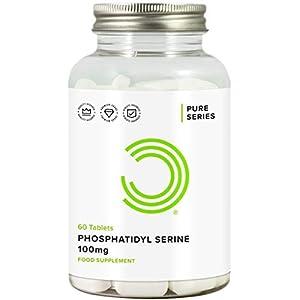 415sIVkxdkL. SS300  - BULK POWDERS Phosphatidyl Serine Tablets, 100 mg, Pack of 60