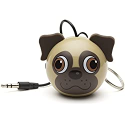 Mini altavoz, diseño Pug - KitSound Buddy