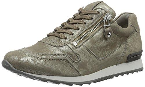 Kennel und Schmenger Schuhmanufaktur Damen Runner Sneakers Grau (taupe Sohle weiss-grau)