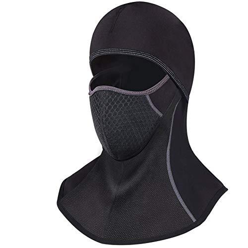 Preisvergleich Produktbild Kalte Maske Und Samt Dicke Warme Kopfbedeckungen Motorrad Fahrrad Reiten Winddichte Maske Ohr Abdeckung