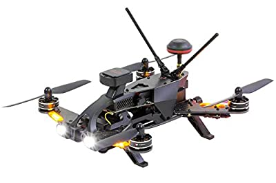 Walkera 15004600 – Runner 250 Pro Racing Quadrocopter RTF FPV Drone with HD Camera, GPS, OSD, Battery, Charger and Devo 7 Transmitter from XciteRC