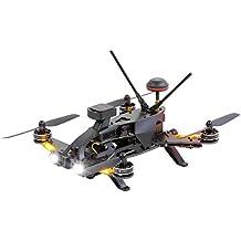 Walkera 15004600–Runner 250Pro Racing de Quadcopter RTF–FPV de dron con cámara HD, GPS, OSD, batería, cargador y control remoto DEVO 7