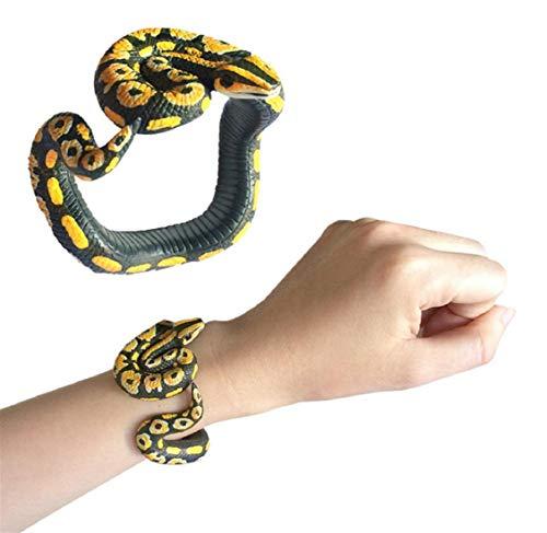Harz Tier Python Armband Handgemachte Lackierte PVC Material Spielzeug Kinder Geburtstag PäDagogisches Kinder ()