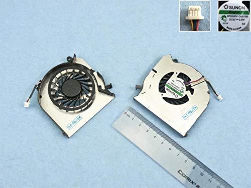 Kompatibel für HP Pavilion DV6t-7000, DV7t-7000 Lüfter Kühler Fan Cooler