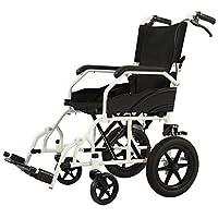 Wheelchair Folding lightweight wheelchair Ultralight portable handicapped trolley Elderly multi-purpose wheelchair
