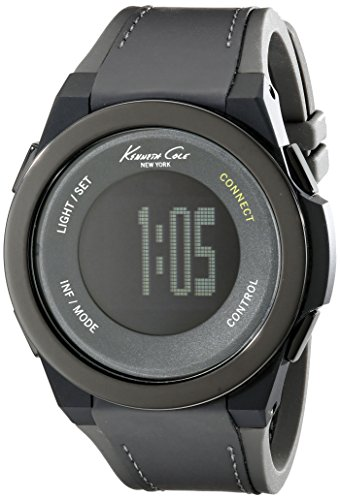 Kenneth Cole Reloj Unisex Adultos de Digital con Correa en Caucho 10022806