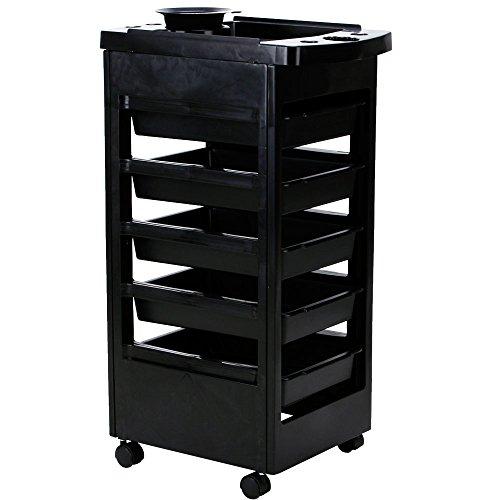 Friseurboy / Beistelltisch 455011 schwarz
