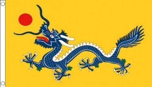 5 ft x 3 ft (150 x 90 cm) Chinesischer Drache China 100% Polyester Material Flagge Banner Ideal für Pub Club Schule Business Party Dekoration