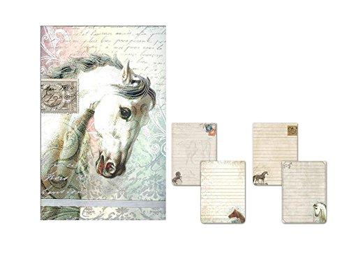 Punch Studio Royal Equestrian großen Flip Note Pads