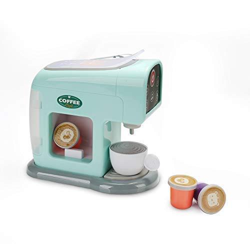 infunbebe Jeeves Jr. Kaffeemacchine Spielzeug Kaffeeservice Spielzeug mit Tasse und Kaffeepads für Kinder, Mein Erste Kaffeespielzeug Set Rollenspielzeug für Kleinekind