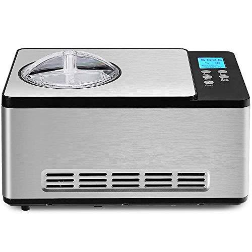 Atten Eiscreme-Hersteller, Sorbet, Gelato, Haus Automatische Eiscreme-Maschine, elektrischer Creamy Gefrorenes Dessert Maker Eismaschine