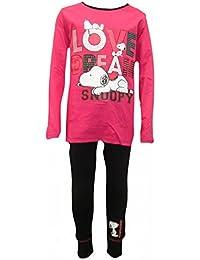Snoopy Girls - Pijama - Manga Larga - para niña