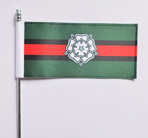British Army Yorkshire Regiment Tactical Anerkennung Flash Ultimate Tisch Flagge - Offizielle Zulassung Mod Flagge