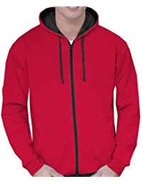 Amazon.co.uk: Red - Hoodies / Men: Clothing