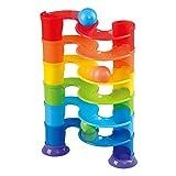 Playgo - Pista canicas 6 alturas & 3 pelotas (ColorBaby 44553)