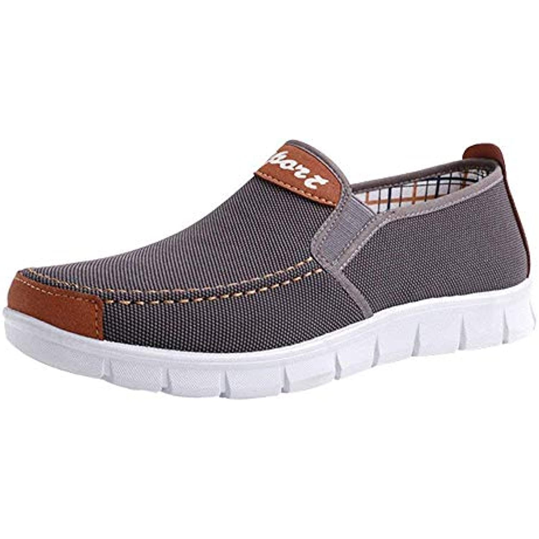 Oudan Chaussures Chaussures Décontractées Sneaker Bottes Chaussures Femmes Simples Bottes Sneaker Hommes Solide Pointe Ronde... - B07KJ3ZQPC - 47222a