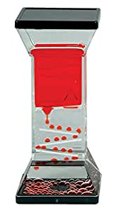 Zig Zag Drops Liquid Motion Desk Toy - Includes 1 Individual Item (Colors May Vary)