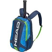 Head Elite - Mochila para Raqueta de Tenis, Unisex Adulto, 283759BLGE, Azul/