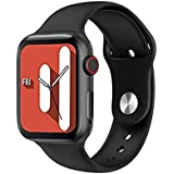 U78 Smart Watch with Body Temperature-Blood oxygen -heart rate-Blood pressure - Calls & Messages Compatible with Android and