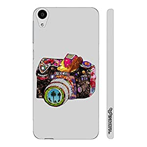 HTC Desire 728 Dual SIM Urban Camera designer mobile hard shell case by Enthopia