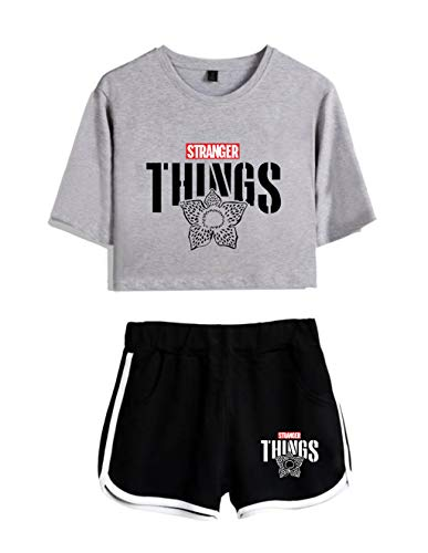 Conjunto Mujer Top Pantalones Cortos Stranger Things