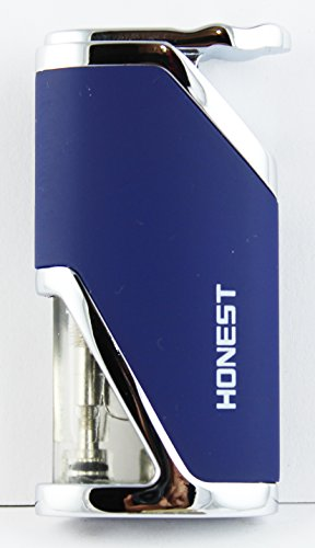 honest designer butane jet flame refillable cigarette lighter -lit176bl Honest Designer Butane Jet Flame Refillable Cigarette Lighter -LIT176BL 415sPH2f5hL